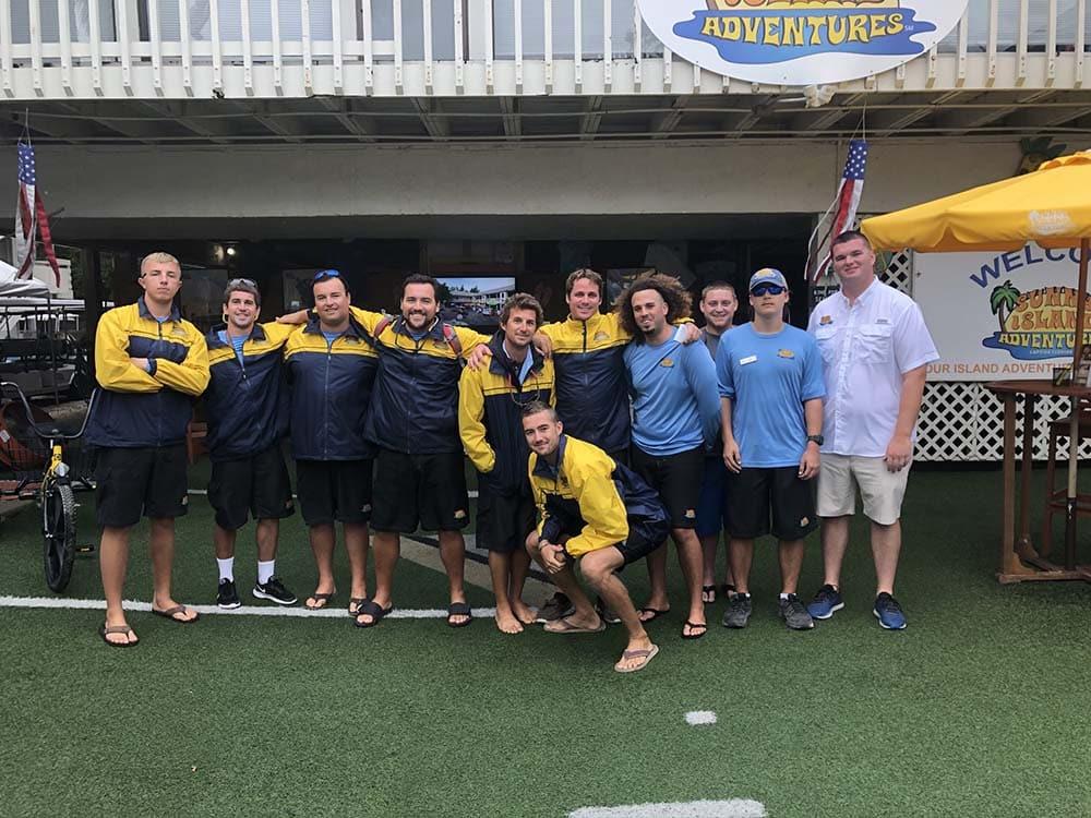 motley crew at sunny island adventures 2019